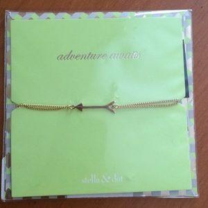 Stella & Dot arrow bracelet